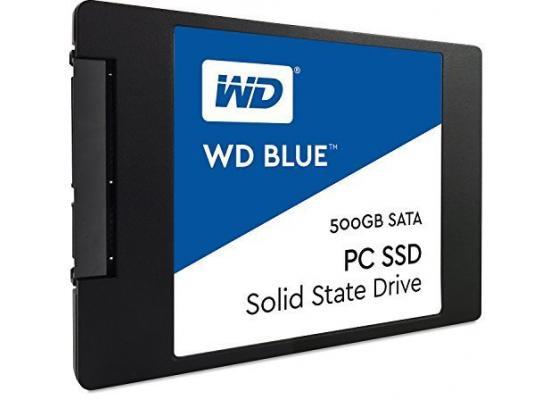"""WD 500GB Blue SATA III 2.5"""" Internal SSD"""
