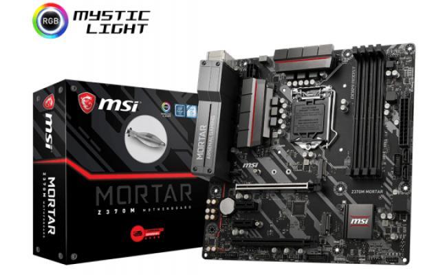 MSI Z370M MORTAR Intel Z370 Micro ATX Motherboard