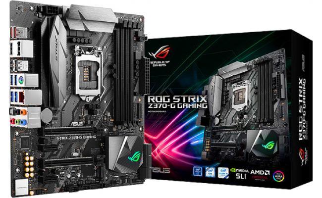 Asus ROG STRIX Z370-G GAMING  Intel Z370 MicroATX