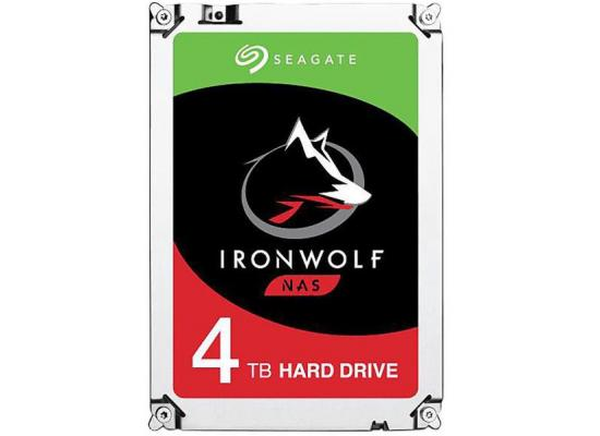 Seagate IronWolf NAS 4TB SATA 6.0 GB/s 64MB HDD