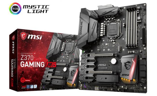 MSI Z370 GAMING M5 Intel Z370 ATX Motherboard