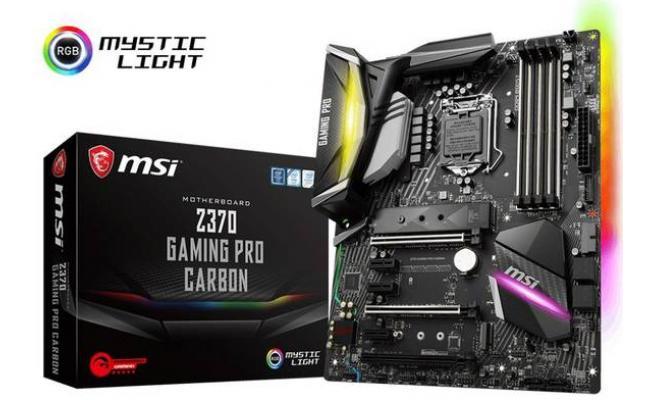 MSI Z370 GAMING PRO CARBON Intel Z370 Motherboard