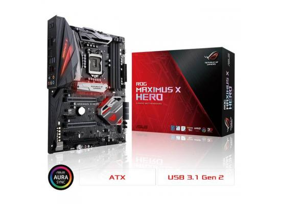 Asus MAXIMUS X HERO Intel Z370 ATX Motherboard