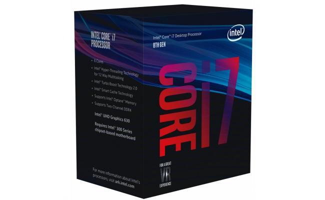 Intel Core i7-8700K Coffee Lake 6-Core (4.7 GHz Turbo)