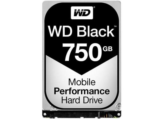 Western Digital Black 750GB 7200RPM 16MB Notebook