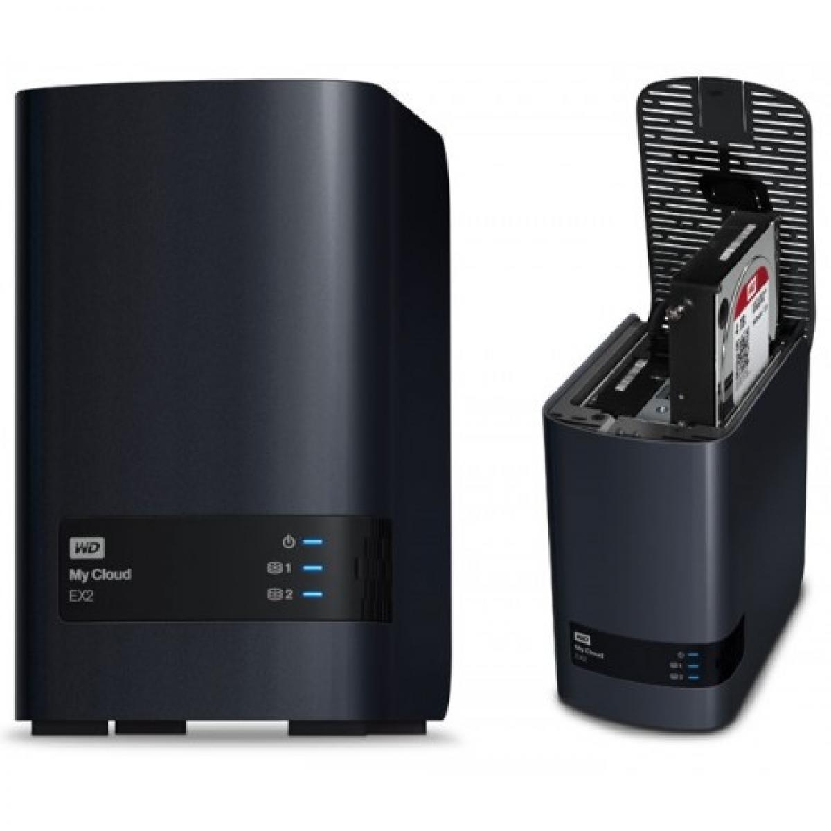 WD 8TB My Cloud EX2 Ultra 2-Bay Cloud Storage Server