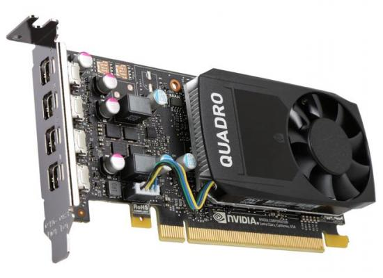 PNY NVIDIA Quadro P600 2GB GDDR5 4Mini DP