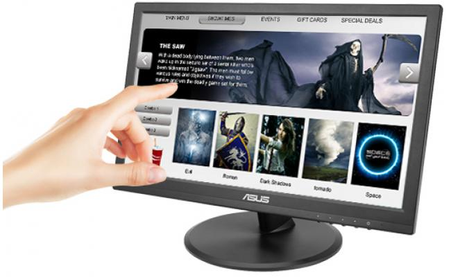 "Asus VT168H 15.6"" Touch Screen VGA/HDMI/USB  (Black)"