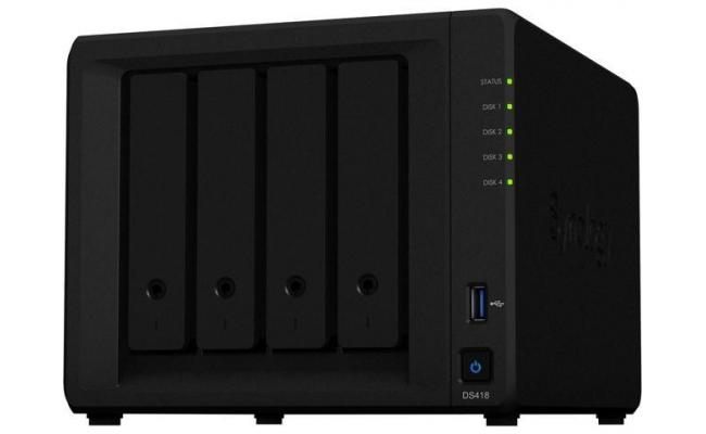 Synology DiskStation DS418 4-Bay For Home&SOHO