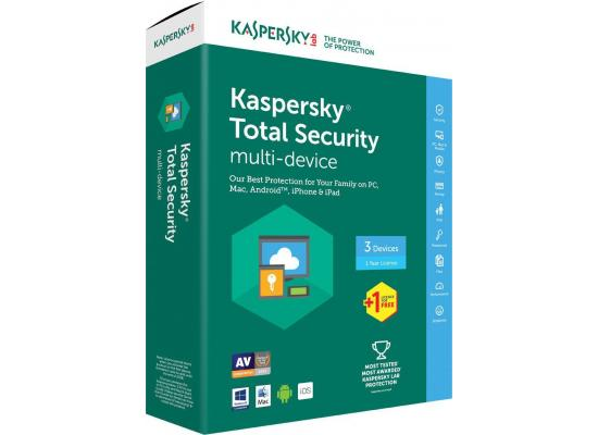 Kaspersky Total Security 2017 1 Devices
