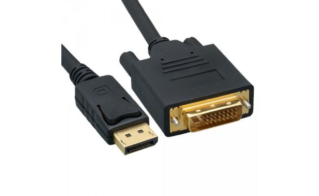 Nippon Labs 6ft DisplayPort Male to DVI-D Male Cable