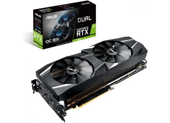 ASUS GeForce RTX 2080 O8G Dual-Fan OC 8GB GDDR6
