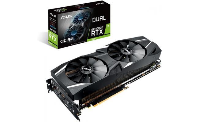 ASUS GeForce RTX 2080 O8G Dual-Fan OC 8GB GDDR6