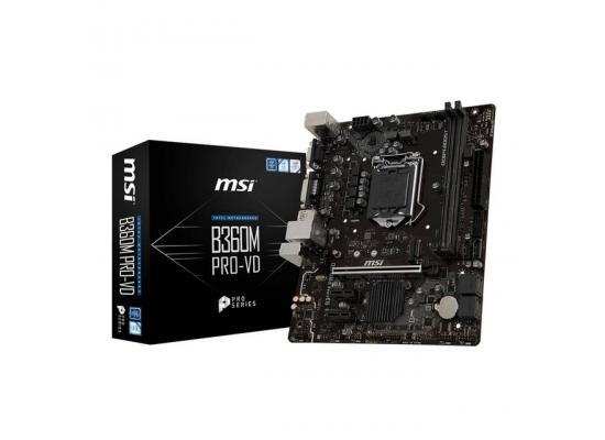 MSI B360M PRO VD Intel B360  MicroATX Motherboard