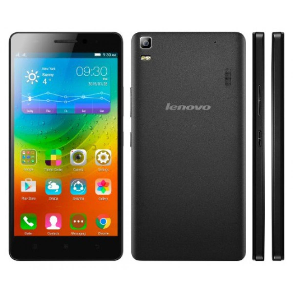 Lenovo A7000 Smartphone 4g Dual Sim   Black