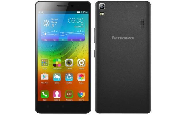 Lenovo A7000 Smartphone 4G Dual Sim , Black