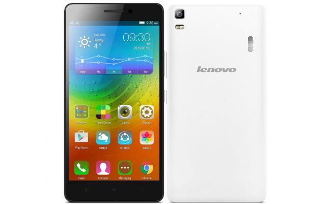 Lenovo A7000 Smartphone 4G Dual Sim , White