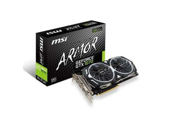 MSI NVIDIA GeForce GTX 1070 ARMOR OC 8GB GDDR5