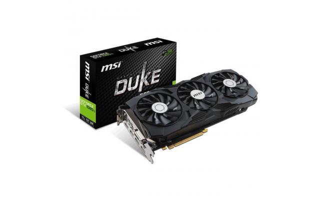 MSI NVIDIA GTX 1080 Ti DUKE OC 11GB GDDR5X