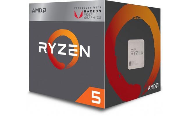 AMD RYZEN 5 2400G Quad-Core 3.9GHz ( Vega RX 11)