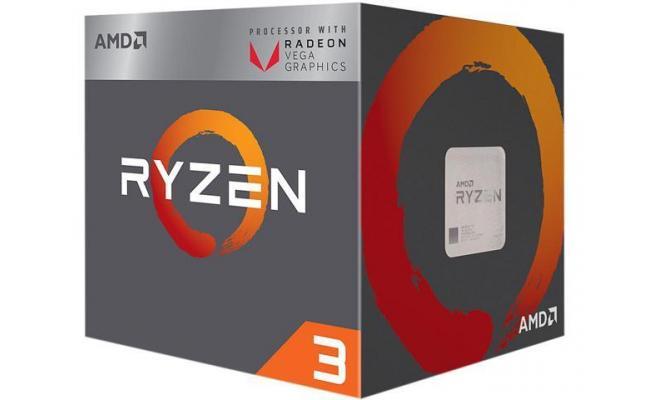 AMD RYZEN 3 2200G Quad-Core 3.7GHz ( Vega RX 8)