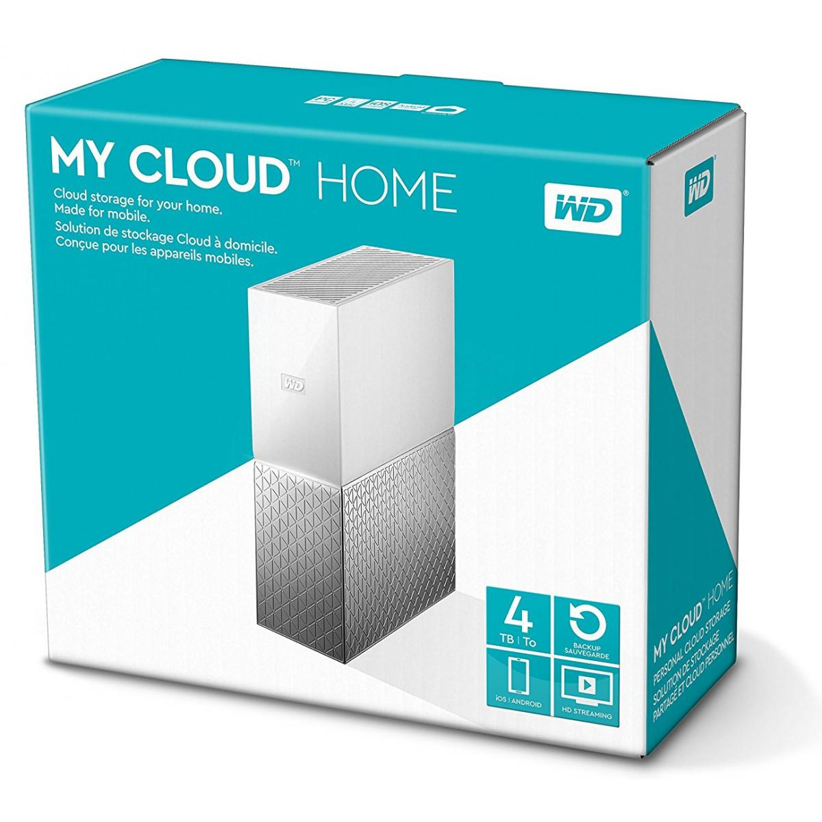 Wd 4tb My Cloud Home Nas Wdbctl0040hwt City Center For