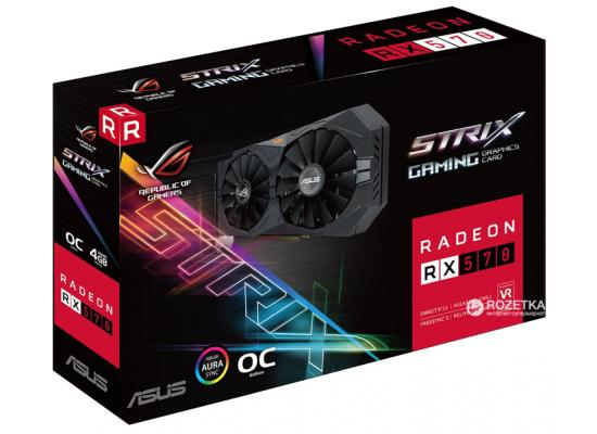ASUS ROG Strix RX 570 O4G Gaming OC Edition GDDR5