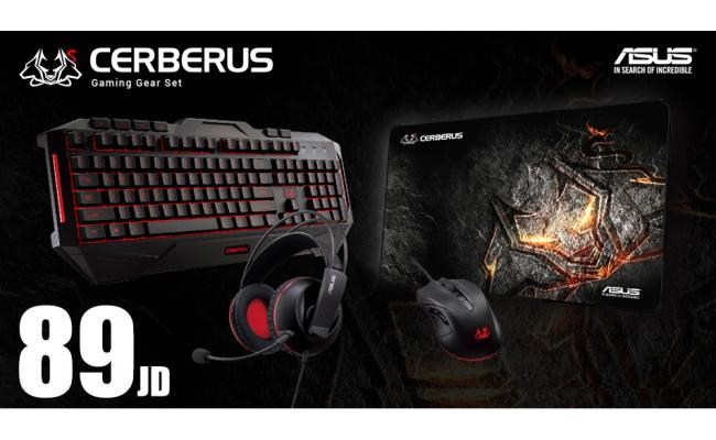 ASUS Cerberus Gaming Gear Set ( Limited Offer )