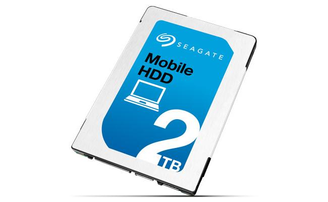 Seagate 2TB 5400RPM 128MB HDD 7MM For Laptop