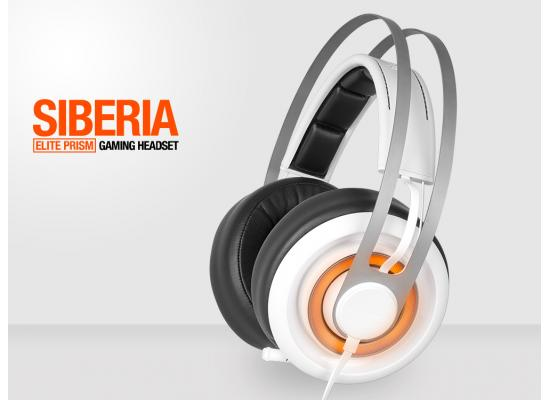 SteelSeries 51190 Siberia Elite Prism White