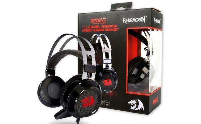 Redragon H301 SIREN2 7.1 3.5 mm jacks Gaming Headset