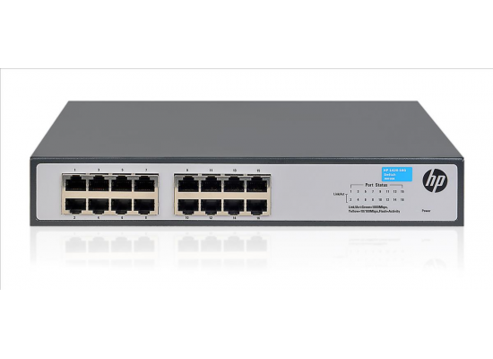 HPE OfficeConnect 1420 16G 2SFP Gigabit Switch