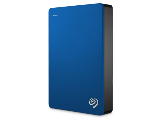 Seagate 4TB Backup Plus Portable Hard Drive (Blue)