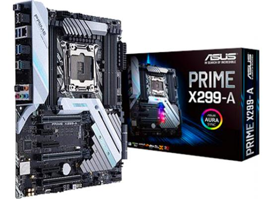Asus PRIME X299-A  Intel X299 DDR4 ATX Motherboard