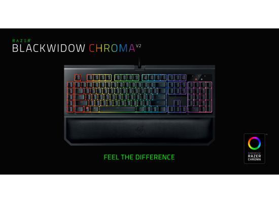 Razer BlackWidow Chroma V2 Gaming Keyboard (Orange)