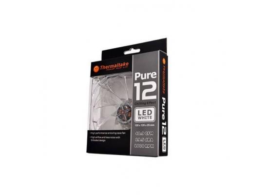 Thermaltake Pure 120mm White LED Case Fan