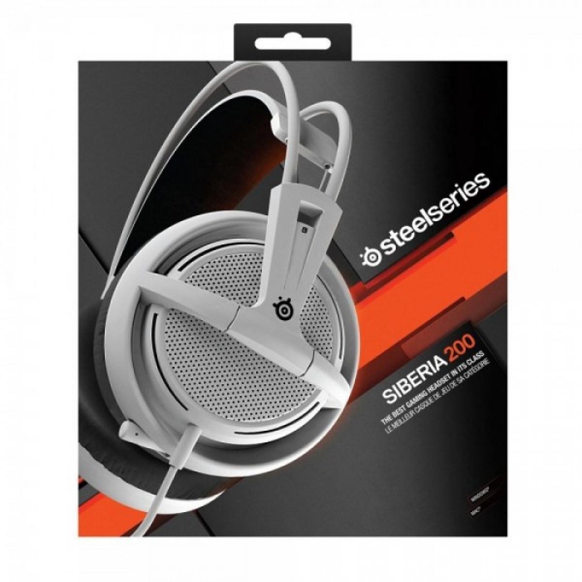 9e891aef730 SteelSeries Siberia 200 Gaming Headset - White | 51132 | City Center ...