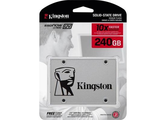 """Kingston 240GB SSDNow UV400 SATA III 2.5"""" SSD"""