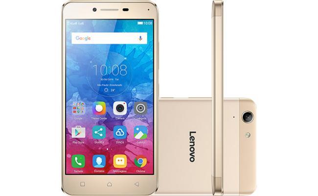 Lenovo Vibe K5 Note Smartphone 4G Dual Sim , Gold