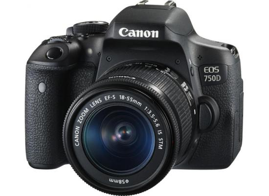 Canon EOS 750D Digital SLR Camera with 18-55mm