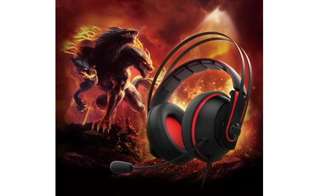 ASUS Cerberus V2 Gaming Headset (Black/Red)