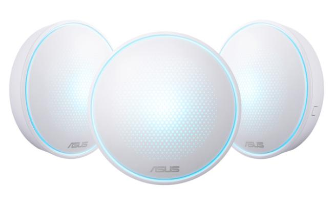 ASUS Lyra Home WiFi System, Pack of 3 (for large homes)