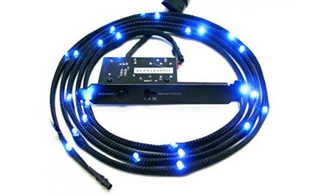 NZXT CB-LED20-BU 2m Sleeved LED Kit (Blue)