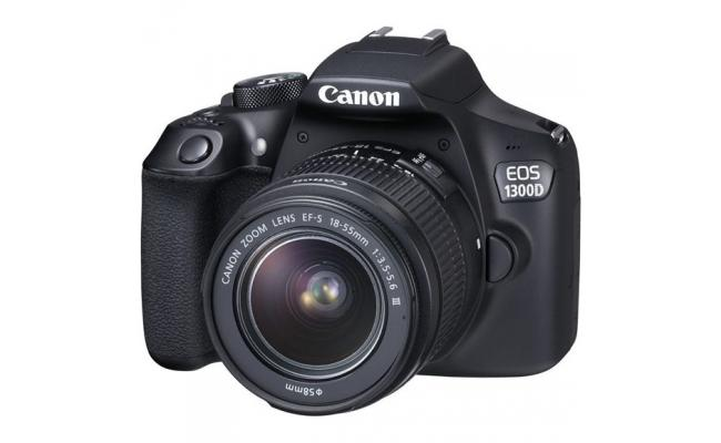 Canon EOS 1300D DSLR Camera with EF-S18-55 DC