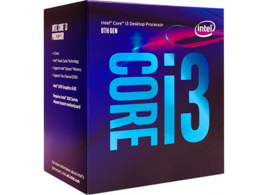 Intel Core i3-8100 Coffee Lake Quad-Core 3.6 GHz