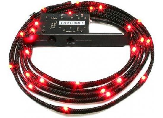 NZXT CB-LED20-RD 2m Sleeved LED Kit (Red)