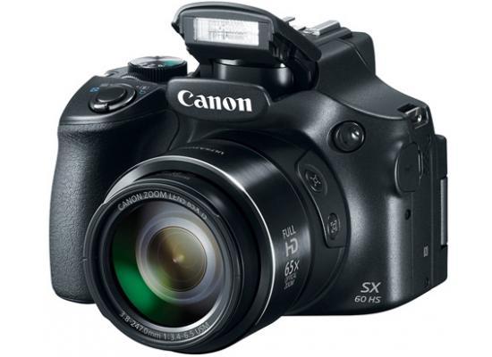 Canon Powershot SX60 16.1MP  65x Optical Zoom Lens