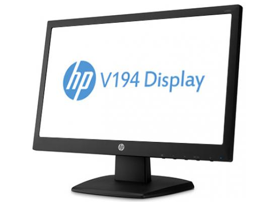 """HP Black 18.5"""" 5ms Widescreen LED-Backlit LCD Monitor"""