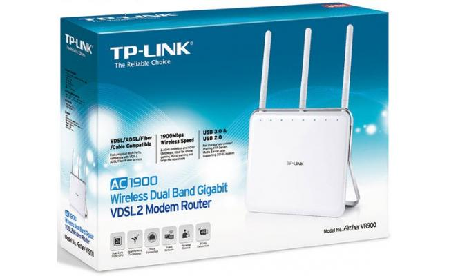 TP-Link Archer VR900 AC1900 Wireless VDSL Router