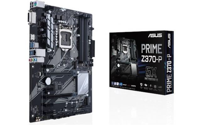 Asus PRIME Z370-P Intel Z370 DDR4  ATX Motherboard